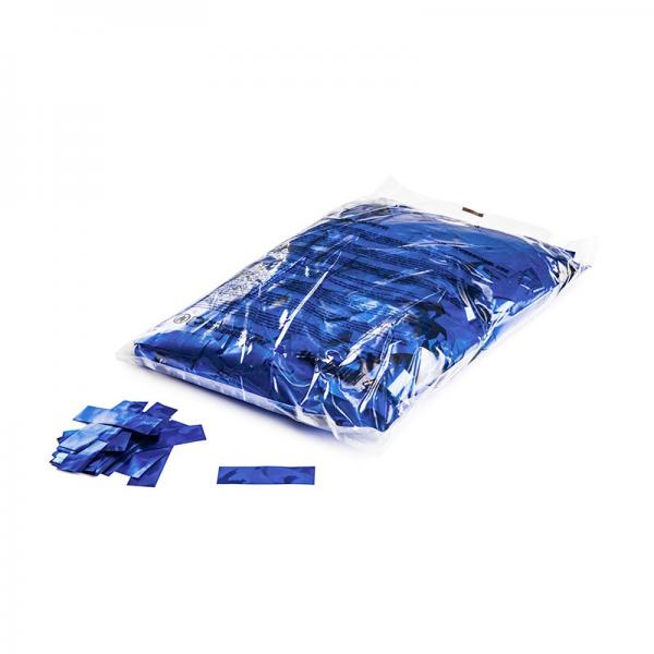 FX Konfetti blau metallic