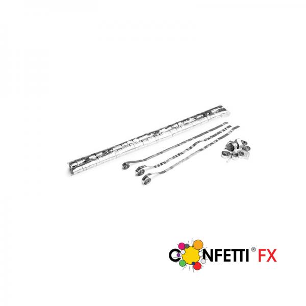 Metallic Streamers 5m x 0,85cm - silber