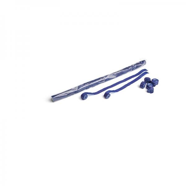Papier Streamer 10 x 1,5 cm, dunkelblau