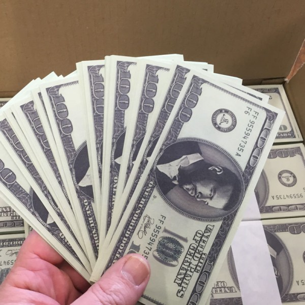 bedruckte Banknoten Kollegah
