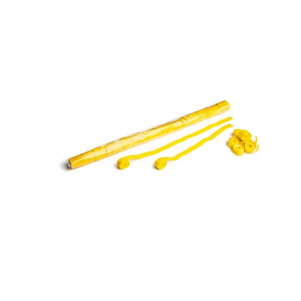 Papier Streamer 10m x 1.5cm - gelb