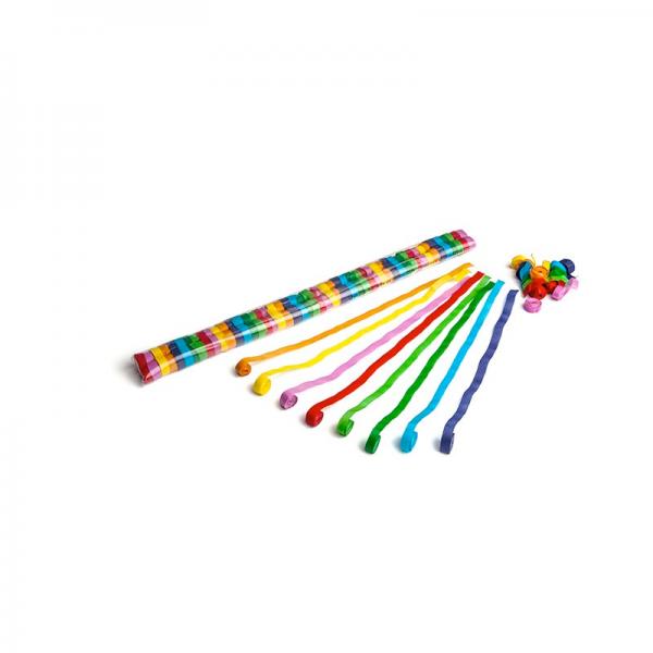 Streamer Luftschlangen 5m x 0.85cm - bunt gemischt