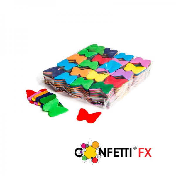 FX Slowfall Konfetti Schmetterlinge bunt - 1Kg
