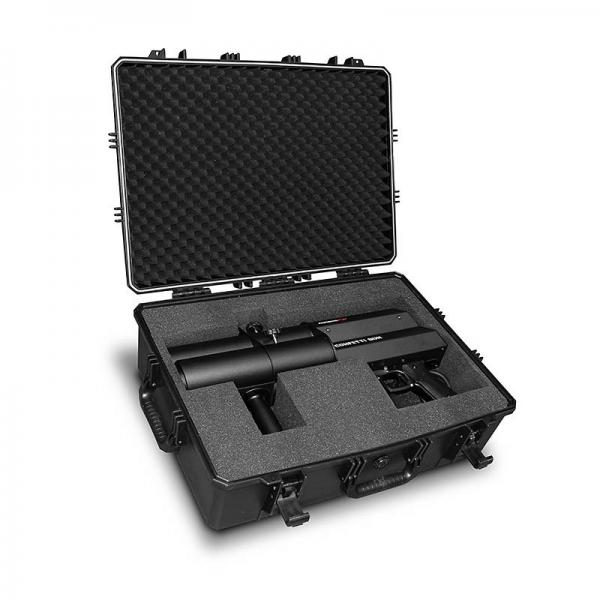Koffer für Confetti Gun