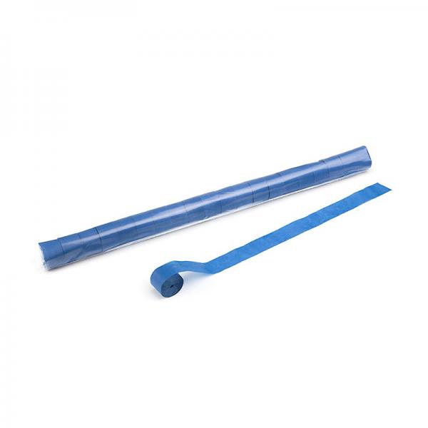 Stadion Streamer Papier, 20m x 2,5cm - dunkelblau