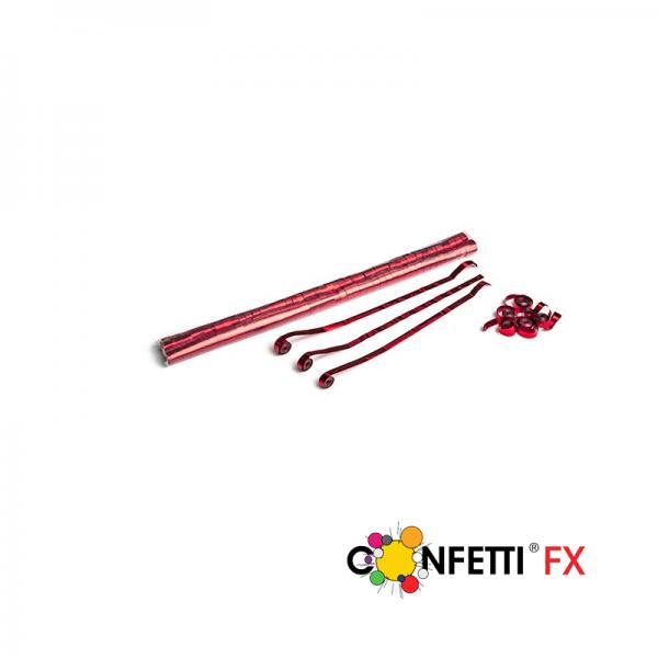 Metallic Streamers 5m x 0,85cm - Rot