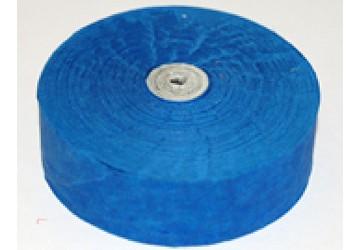 Wurfrollen Konfetti, blau