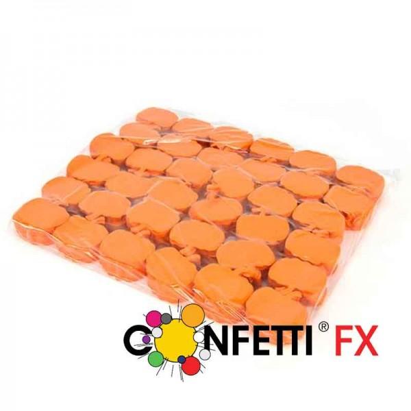 FX Slowfall Konfetti Halloween Kürbisse orange