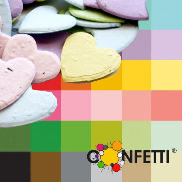 Blühendes Konfetti Kundenfarbe