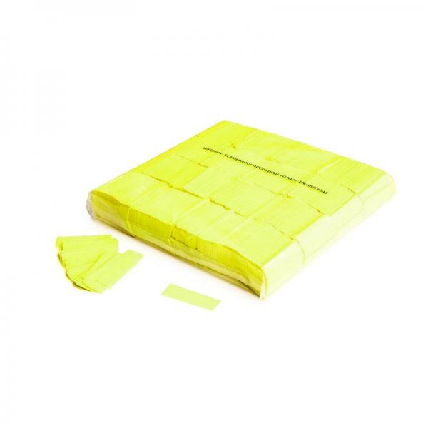 Pulverfetti 6 x 6 mm UV gelb