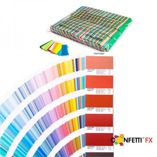 FX Konfetti Pantone Farben